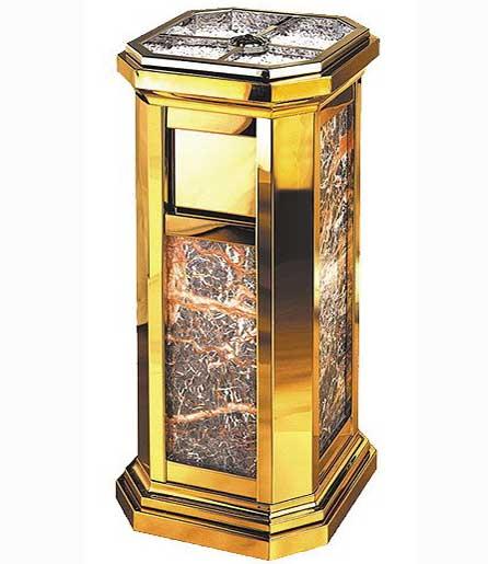 大理石罗马垃圾桶SJ2009