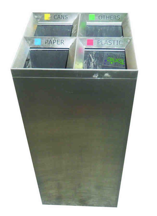 四分类垃圾桶SJ6178