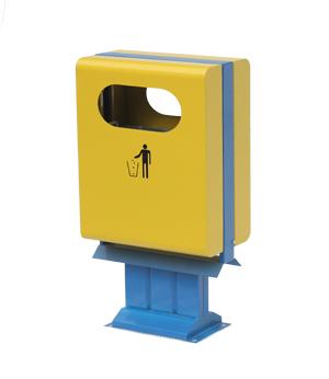 室外方形垃圾桶 SJ5308