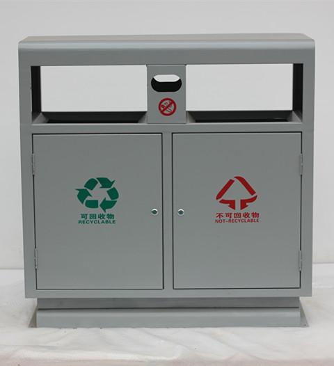 钢板分类垃圾箱SJ52761