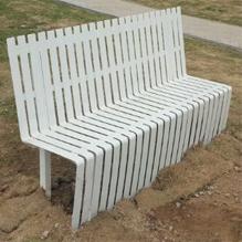 带靠背户外休闲椅