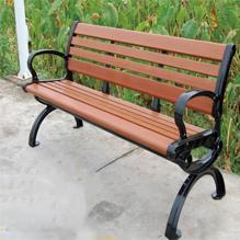 防腐木园林座椅SJ9188