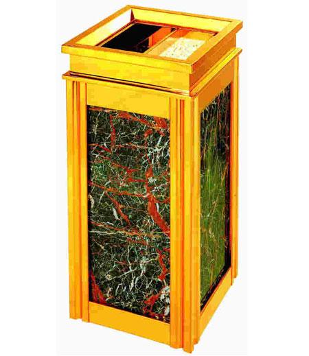 大理石垃圾桶SJ2004 大理石垃圾桶,候车室垃圾桶,电梯口垃圾桶,酒店垃圾桶