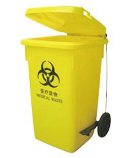 100L医疗脚踏回收桶 SJ1805