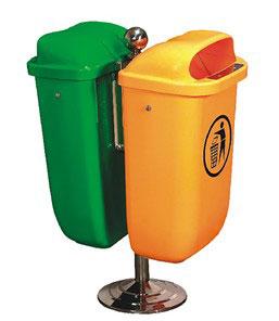 塑料分类垃圾筒SJ1431