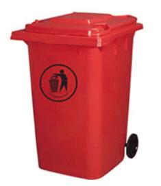 360L塑料垃圾箱 SJ1218