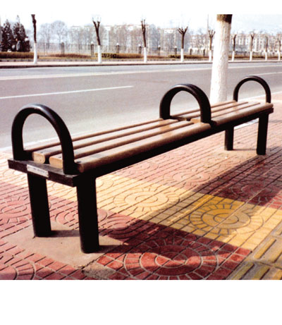 无靠背园林椅SJ9144