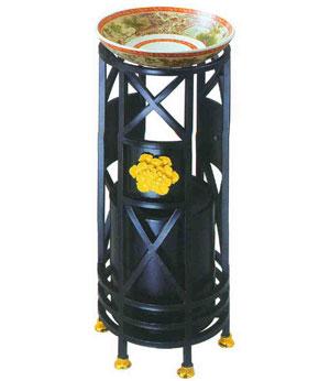 宫廷烟灰桶SJ3037