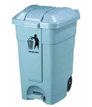 70L脚踏塑料垃圾箱SJ1549
