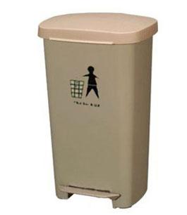 50L塑料脚踏垃圾桶