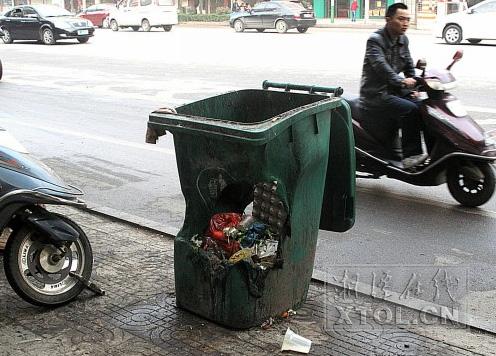 尚洁桶业呼吁全民保护公共环卫设施 被烧毁的塑料金沙城娱乐中心手机版