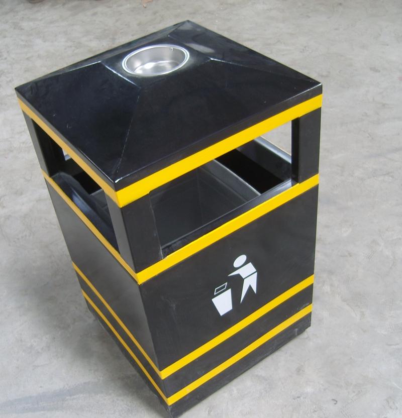 户外方形垃圾桶SJ5388
