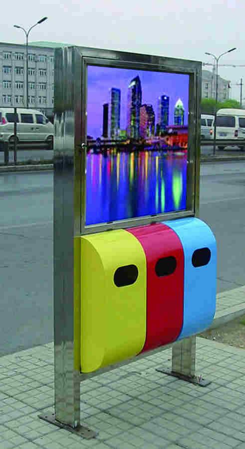 广告垃圾桶SJ8020