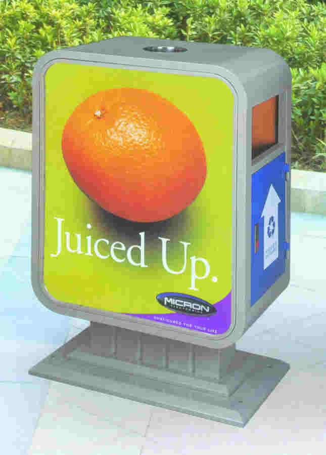 广告垃圾桶SJ8023