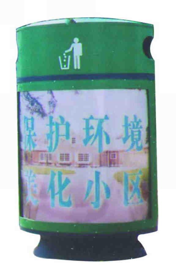 广告垃圾桶SJ8026
