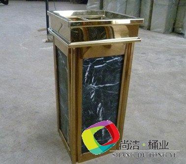 大理石垃圾桶