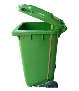 240L脚踏塑料垃圾桶