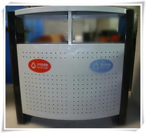 钢制冲孔分类垃圾桶 SJ50871定制