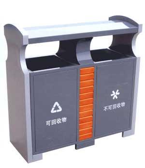 钢制分类垃圾桶 SJ5276