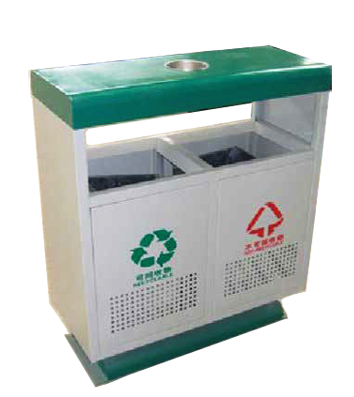 钢制垃圾桶