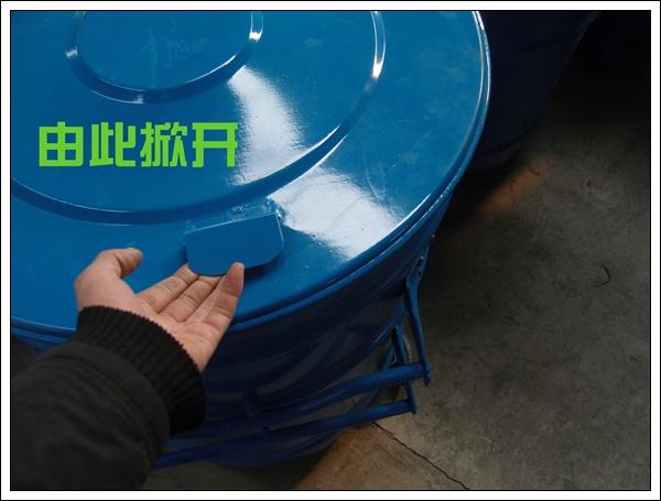 环卫挂车垃圾桶 环卫挂车大铁桶 大铁桶