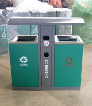 钢制分类垃圾桶SJ5138