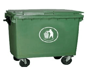 660L塑料垃圾箱SJ1423