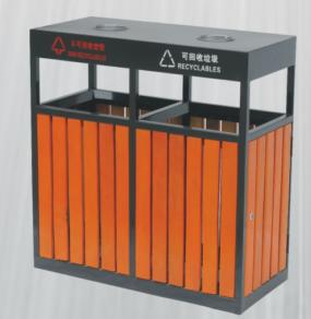 户外分类垃圾桶SJ5036