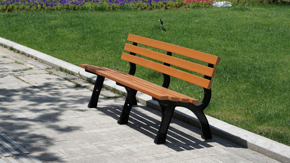 塑木公园椅002