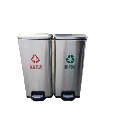 30L双脚踏酒店垃圾桶 30L,脚踏,酒店,垃圾桶,30L,脚踏,酒店,垃圾桶,卫生,不容易,垃圾,沾手,材料,不锈钢,耐用,欢迎,咨询,价格,